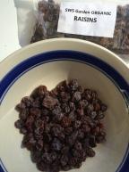 Raisins from the garden.