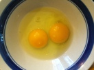 """Check out the color of those yolks"""