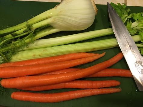 Fennel, Celery & Carrots