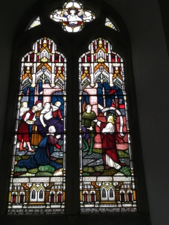 stained glass window honoring Alexander Boyle, my great-great-great grandfather