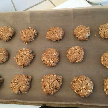 Vegan version of Anzacs